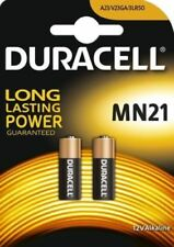 2 Duracell Mn21 (a23 K23a Lrv08) 12v Batteries