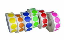 """Home Office Labels 19mm in Rolls Stickers for Tagging Organizing 3/4"""" 6300 Pack"""