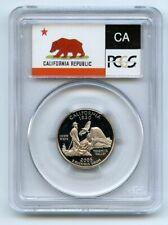 2005 S 25C Clad California Quarter PCGS PR69DCAM