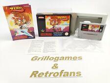 "Super Nintendo Spiel "" Zero The KAMIKAZE Squirrel "" Snes | Ovp | Pal | CIB |"