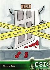CSI Series 3 Sketch Card drawn by Rowena Pagarigan /1