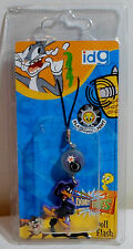 WARNER Bros LOONEY TUNES DAFFY DUCK DOLL FLASH FOR CELL PHONE DANGLER SEALED