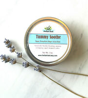 Tummy Soothe Salve Bloating Stomach Ache Pain Cramp Relief Digestive Support