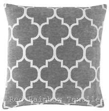 Chenille Moroccan Decorative Cushions