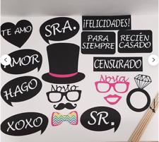 Boda apoyo de la foto del novio Matrimonio Señor Señora Spanish (2011G)