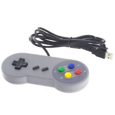 Retro USB Gamepad Joystick für PC Mac Super Nintendo SNES Controller Nachbildung
