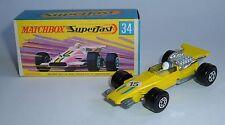 Matchbox Superfast No. 34, Formula 1 Racing Car, - Superb Mint.