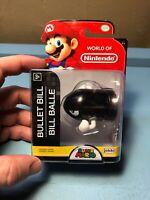 Jakks Pacific World of Nintendo Bullet Bill New