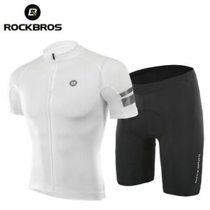 ROCKBROS 3D Summer MTB Bike suit Breathable Sponge Shock Absorption Cycling Set