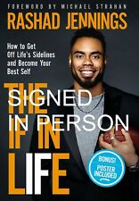 SIGNED The IF in Life How to Get off the Sidelines by Rashad Jennings, new, auto