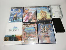 FINAL FANTASY X X-2 XI CHAINS URGHAN XII ONLINE MODEM HARD DRIVE COLLECTION  PS2