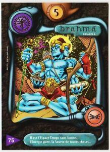 75 BRAHMA - CARTE DEUS - SERIE I - 1996 - VF [ NEUF MINT ] trad's