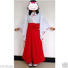 Inuyasha Psychic Kikyo Kimono Cosplay Size M Japanese anime Costume