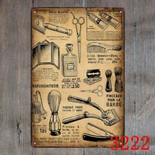 Metal Tin Sign barber shop use  Decor Bar Pub Home Vintage Retro Poster