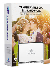 """Convert Transfer Old VHS Tapes, Beta, 8mm, Camcorder Tapes to DVD for """"Pc"""""""