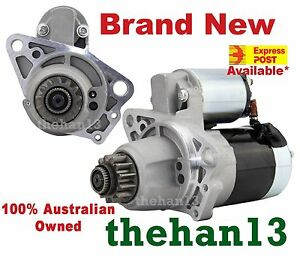 New Starter Motor for NISSAN X-TRAIL T30 T31 QR25DE Engine 2.5L (AUTO ONLY)