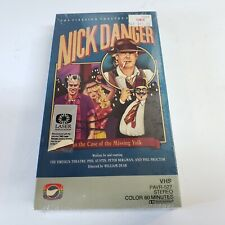 Nick Danger VHS Case of the Missing Yolk Firesign Theatre Comedy SEALED