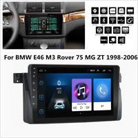 9'' Android 9.1 1GB+16GB Car Stereo Radio GPS WIFI BT DAB For BMW E46 M3 1998-06