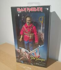 "NECA IRON MAIDEN EDDIE THE TROOPER 8"" RETRO CLOTHED ACTION FIGURE (MEGO)"