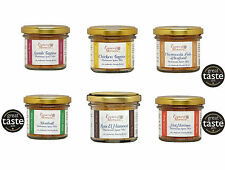 Moroccan Gourmet Spice Mixes Set of 6 Jars  for Authentic Moroccan Cooking