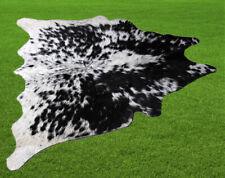 "New Cowhide Rugs Area Cow Skin Leather 12.25 sq.feet (42""x42"") Cow hide U-8321"