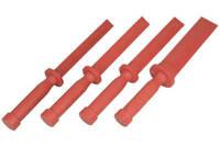 Kunststoff-Schaber-Satz neu 4-tlg.  Kunststoffschaber Dichtungsschaber Werkzeug
