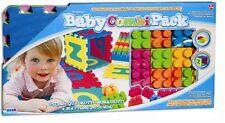 Giochi per bambini playset baby pack tappeto puzzle + mattoncini jumbo PS 00182