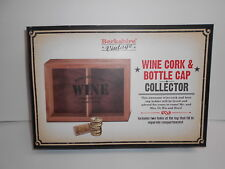 WINE CORK & BOTTLE CAP HOLDER    NIB