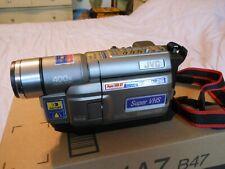 JVC Compact VHS Camcorder, Model GR-SXM330U - pre-owned