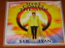 SIR IVAN - Here Comes The Sun - 10 Track DJ Radio Club Mix PROMO CD! peaceman