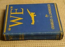 """WE"" BY CHARLES LINDBERGH 1928 HARD COVER"