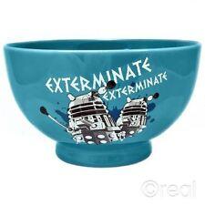 DR WHO Dalek sterminare Ciotola in ceramica-Doctor Who Dalek cereali/Ciotola colazione