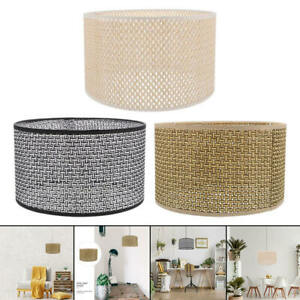 Rattan lampshade Durable ceiling lamp for the home office