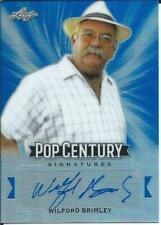 Wilford Brimley Leaf Pop Century Auto Card SP /20 Autograph STAR WARS EWOKS NOA
