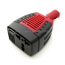 Car Power Inverter 75W AC 220V + USB Port 5V