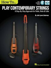 How to Play Contemporary Strings A Step-by-Step Approach for Violin 000151259