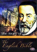 USED DVD // THE STORY OF THE ENGLISH BIBLE -  FAMILY CHRISTIAN MOVIES