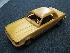 Wooden Mercedes-Benz 450 SLC 1972 - 1980 (length 53 cm) (JS)
