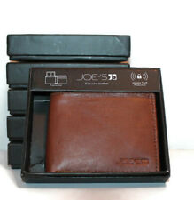 Joe's Genuine Leather Passcase Men's Wallet RFID Protection