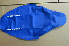 TEAM HONDA SEAT COVER BLUE GRIPPER  HONDA CRF250R 2010 2011 2012 2013