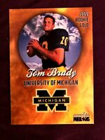 🔥Tom-Brady INCREDIBLY RARE-1999 College PRE-ROOKIE CARD- ONLY 2000 Made!🔥