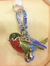 NWT Juicy Couture 2011 RED ROBIN Charm HTF!!!! YJRU5142