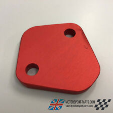 Ford X-Flow Fuel Pump Blankin Plate Red OE900