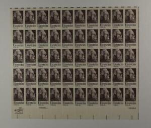 US SCOTT 1774 PANE OF 50 EINSTEIN STAMPS 15 CENT FACE MNH