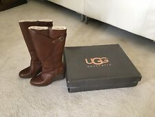 Ugg Knee High Shearling Boots UK Size 3 (36)