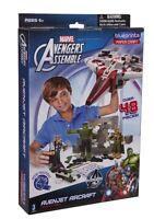 Marvel Blueprints - Avengersr Vehicle Pack Avenjet Aircraft Paper Craft Assemble