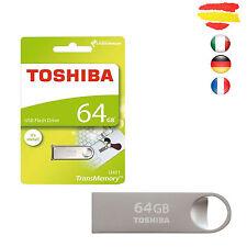 PENDRIVE TOSHIBA 64GB U401 MEMORIA USB 2.0 64 GB PEN DRIVE