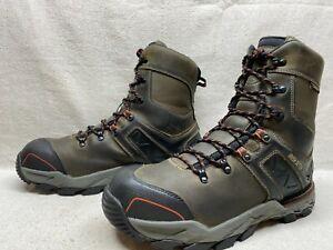 Details about  /Size 11EE Men/'s Safety Work Boot Irish Setter Kasota #83646 Gray Waterproof