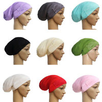Women Muslim Inner Cap Under Scarf Islamic Turban Hats Hijab Headwear Wrap Arab