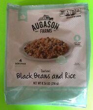 Augason Farms Instant Black Beans & Rice Emergency Food Storage Survival Prepper